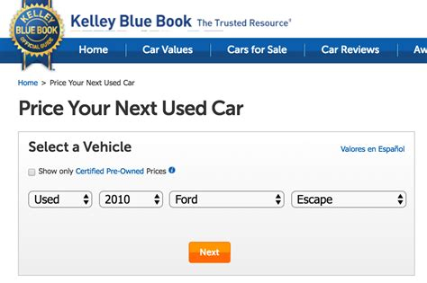 kelley blue book used cars value calculator breaking news how to determine the value of a car yourmechanic advice