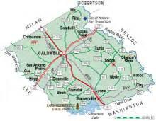 map of burleson county burleson county almanac