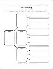 Persuasive Essay Graphic Organizer Read Write Think by Free Graphic Organizers For Teaching Writing