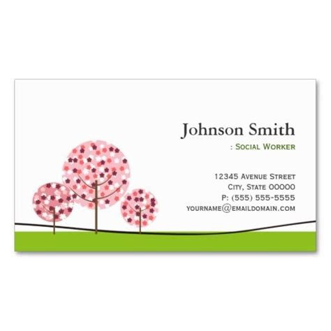 Social Work Business Card Templates by The World S Catalog Of Ideas
