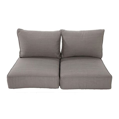 home depot patio furniture cushions sofa loveseat cushions outdoor cushions patio furniture the home depot