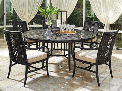 bahama outdoor dining set bahama outdoor marimba wicker dining set mrmbdin3