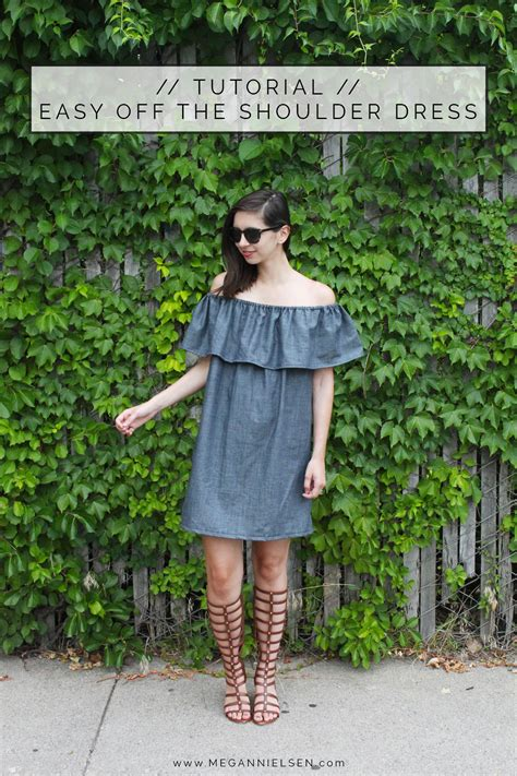 easy   shoulder dress  top