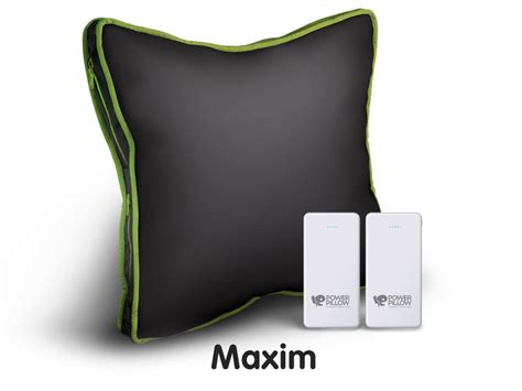 Power Pillow by Power Pillow Will Charge Your Devices While You Take A Nap