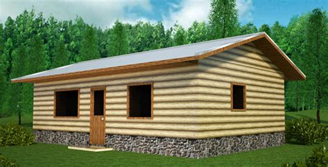 log siding house plans economizer house plan with log siding natural building blog