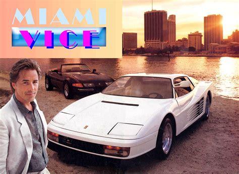Lamborghini Miami Vice Auto E Cinema Testarossa Di Miami Vice Cavalli