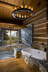 cabin bathroom house