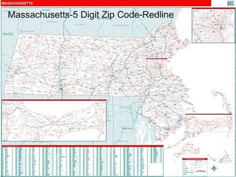 zip code map massachusetts massachusetts zip code map with wooden rails from