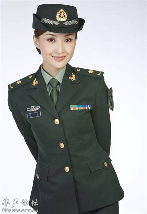 chinese military uniform girl the uniform girls pic china military uniform girls 021