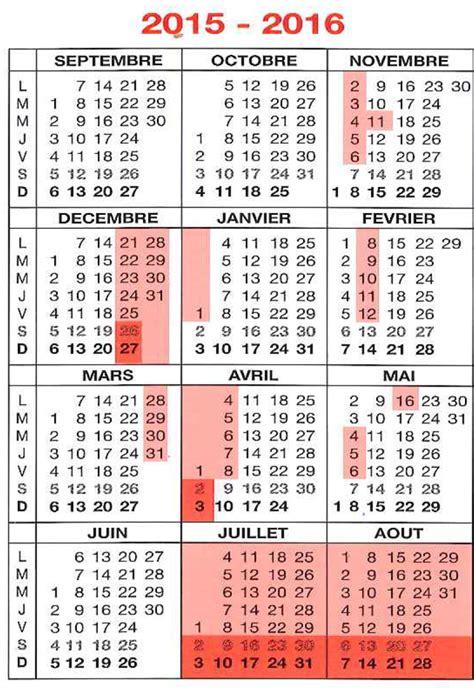 Calendrier Congés Scolaires 2016 Dates Congs Scolaires 2016 Belgique