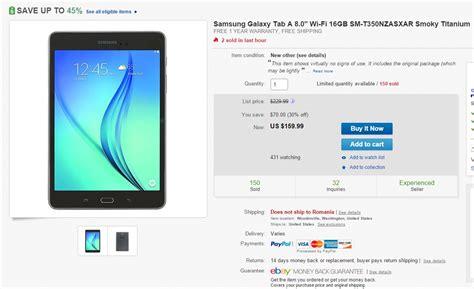 Samsung Tab A8 grab a 16gb samsung galaxy tab a 8 0 for only 160 on ebay open box