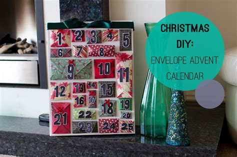 make an advent calendar how to make a diy envelope advent calendar for