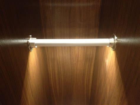 Led Closet Rod by Newport Residence Led Closet Rod Lighting