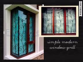 love  simple  modern design   window grill
