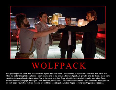Vegas Hangover Meme - running with the wolf pack runningjunkies