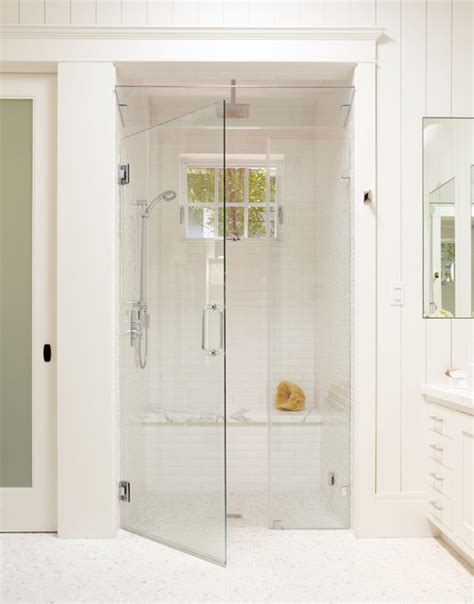 steam shower benches large white tile shower with bench steam shower and