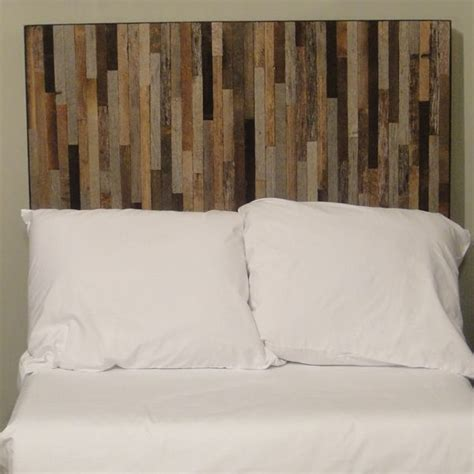 Reclaimed Headboards by Reclaimed Barnwood Headboard This