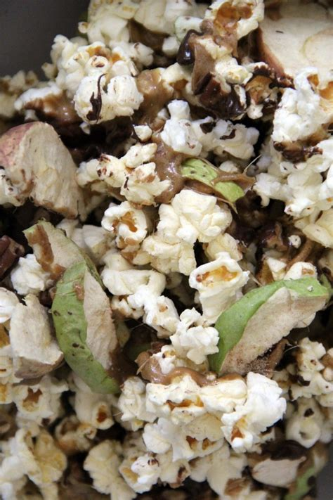 puppy chow recipe microwave the best caramel apple popcorn recipe