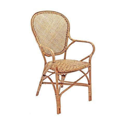 sedia rattan sedia in rattan naturale intrecciato con braccioli sik