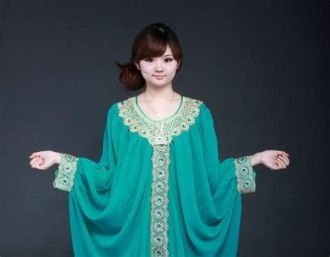Gamis Syahrini Dress With Shawl 20 baju kaftan tren busana muslim middle east style