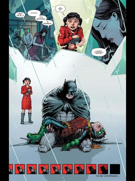 in memory of damian rage issues 4 son of batman