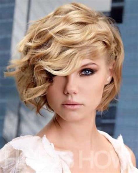 blonde asymmetrical haircuts 10 good curly asymmetrical bob short hairstyles 2017