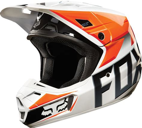 fox helmet 190 68 fox racing v2 race mx helmet 199172