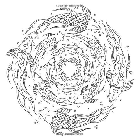 detailed fish coloring pages fish ocean underwater sea coloring pages colouring adult