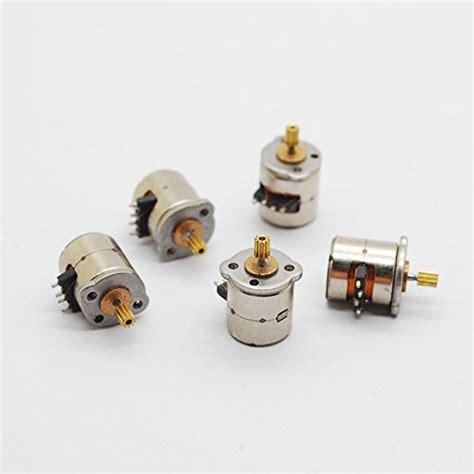 Stepping Motor 4 Kabel 5 pcs 3 5v dc 2 phase 4 wire dia 8mm dc stepper motor