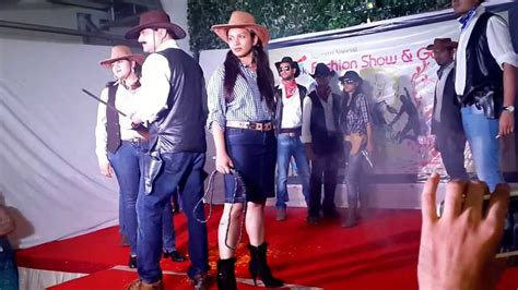 themes for college r walk cowboys and cowgirls mastek s theme fashion show 2013