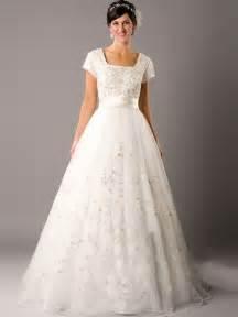 modest wedding dresses dressed up