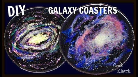 resin galaxy coasters diy project craft klatch