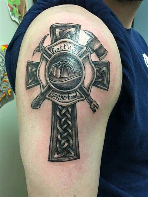 25 groovy tattoo sleeve ideas 100 firefighter tattoos designs ideas and 100 1 2