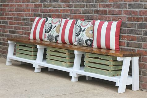 bench blog simple diy farmhouse bench tutorial with storage