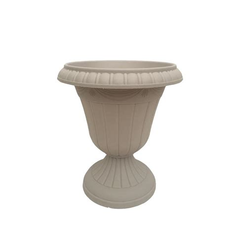Resin Urns Pots Planters Garden Center The Home Plastic Urn Planters