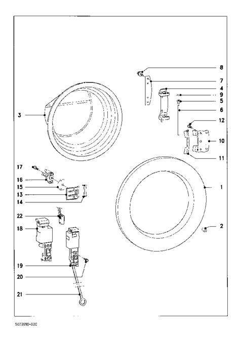 miele parts diagram miele w842 exploded service manual schematics