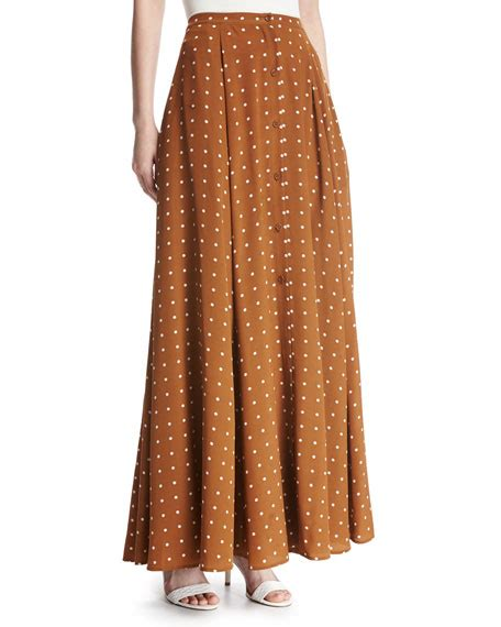 Special Maxi Flare Skirt diane furstenberg sleeveless high neck silk blouse and matching items