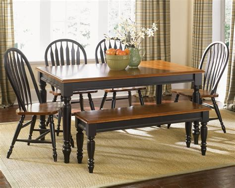 Black Dining Room Furniture Sets Inspiration Idea Black Country Dining Room Sets Furniture Low Country Black 6 58x38