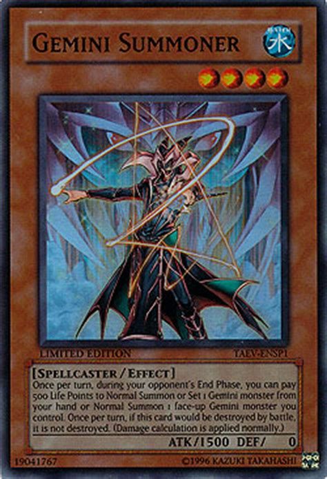 Saambell The Summoner Genf En029 Common Unlimited Yugioh gemini summoner tactical evolution boosterserien einzelkarten yu gi oh mawo cards