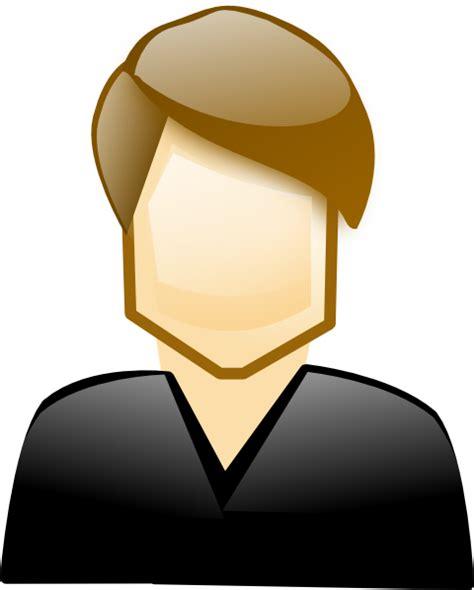 person clipart single clip at clker vector clip