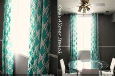 Aqua Dining Room Curtains Aqua Dining Room Curtains Home Mployment