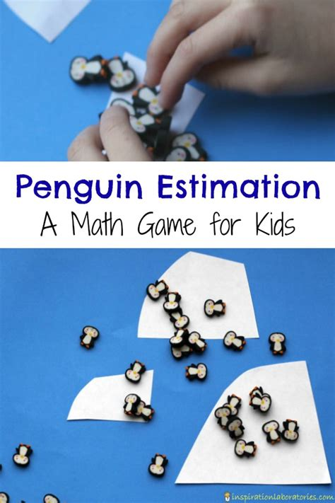 printable estimation games penguin estimation game inspiration laboratories