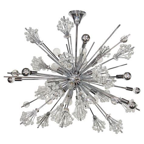 sputnik chandelier swarovski crystal sputnik chandelier at 1stdibs