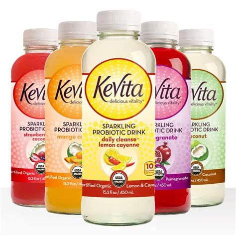 Kevita Detox by Kevita Sparkling Probiotic Drink Review
