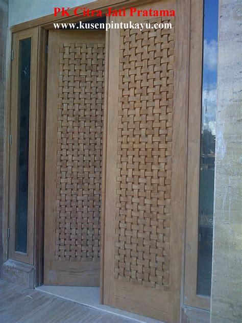 Oven Bima Utama pintu panil minimalis pk dwi karya mandiri wood
