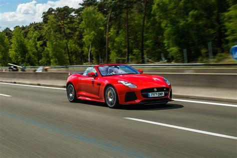 jaguar  type svr convertible  review pictures auto express