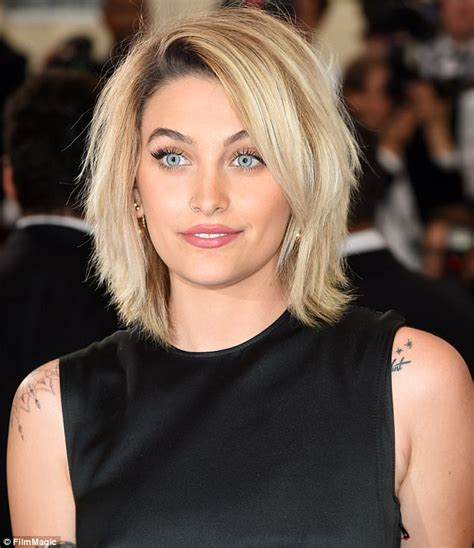 what hair style did paris jackson cut her hair the gallery for gt how to make simple hairstyle