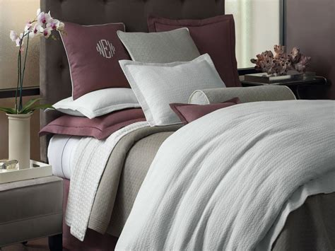 peacock alley coverlet discontinued easy care cotton bedding in white or flint grey peacock