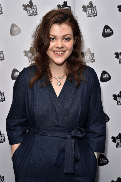 georgie henley georgie henley at access all areas premiere in london 07