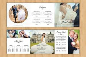 wedding brochures templates free 25 wedding brochure templates free sle exle